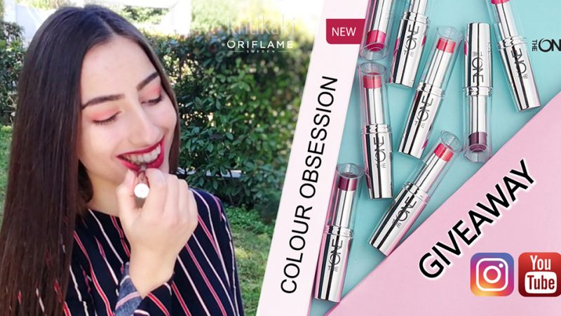 Giveaway με Δώρo 10 Nέα κραγιόν The ONE COLOUR OBSESSION